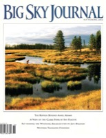 Dix Baines Big Sky Journal 2002