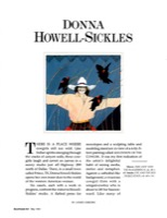 Donna Howell Sickles Southwest Art 1991
