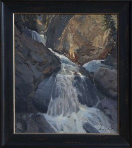 Spring Torrent painting by Peter Campbell