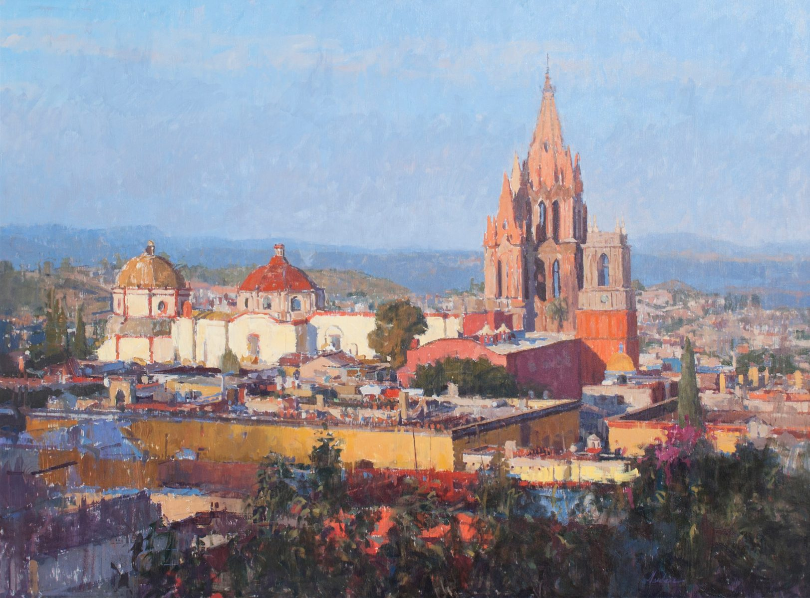 Frank Gardner Background colourful heart of san miguel