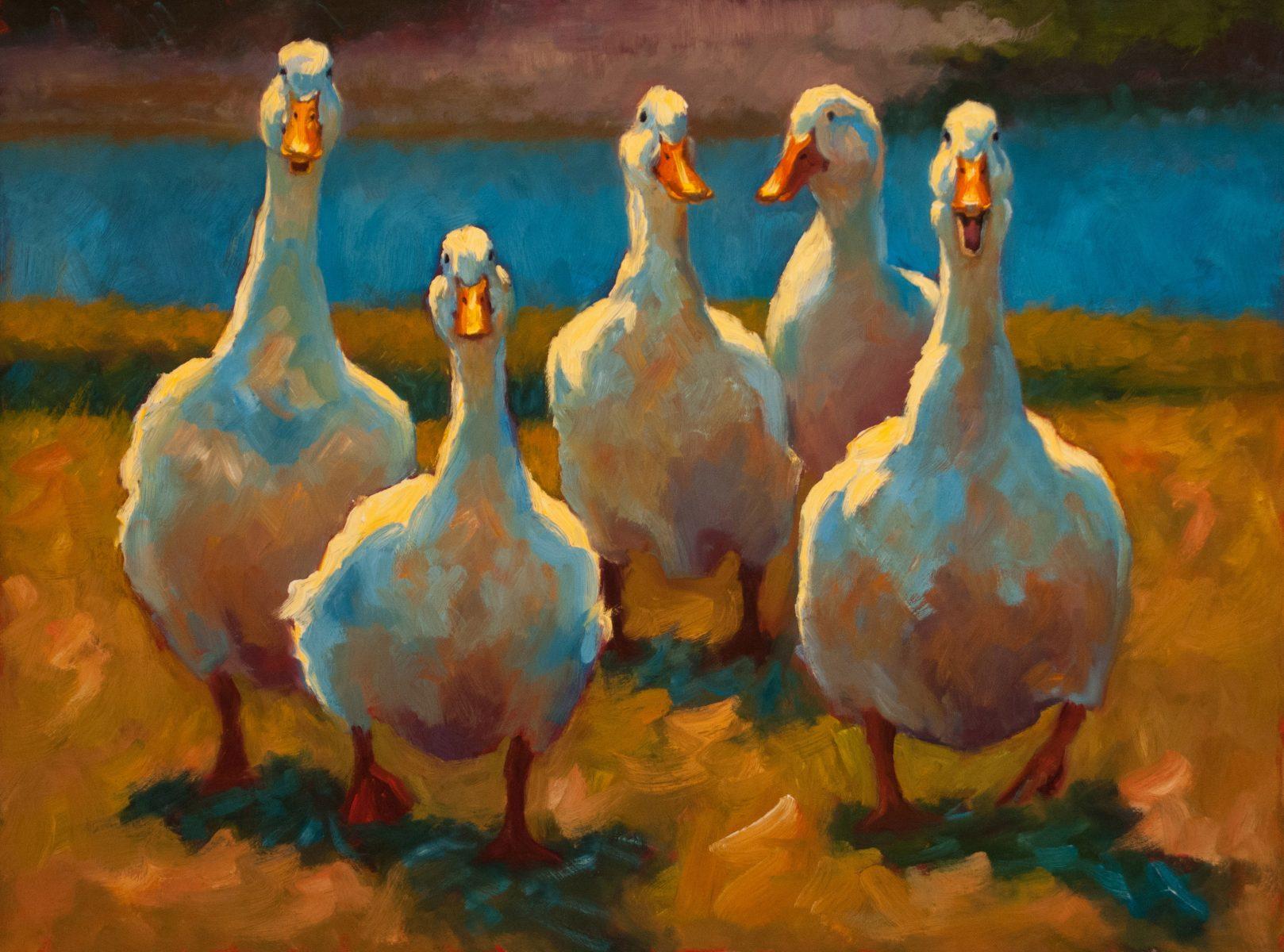 Cheri Christensen Background duck dynasty